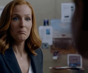 gif, x-files, and gillian anderson image