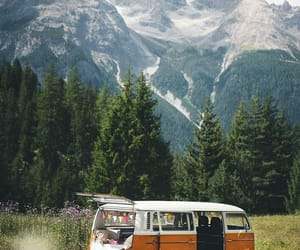 adventure, hippie, and mountains image