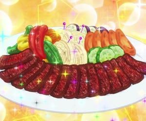 anime, piace, and anime food image