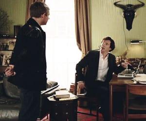 sherlock holmes, john watson, and bbc sherlock image