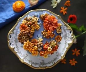 comida, floral, and delicioso image