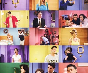 aesthetic, colours, and joey tribbiani image