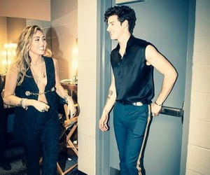 miley cyrus, shawn mendes, and grammys image