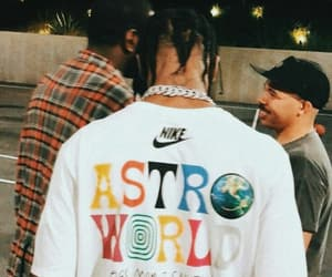 travis scott, astroworld, and nike image