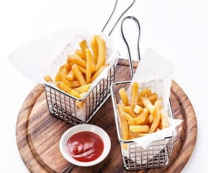 chips, fast food, and food photography image