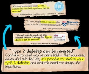 diabetes, type 2 diabetes, and diabetes cure image