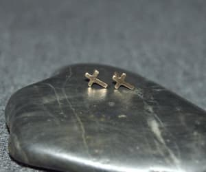 etsy, 14k gold filled, and gold studs image