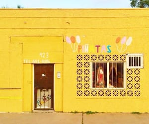 facade, store, and yellow image