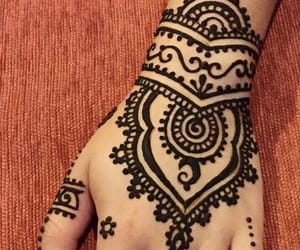 henna tattoos and beautiful image