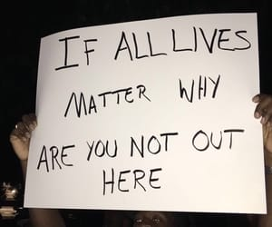 protest, blm, and black lives matter image