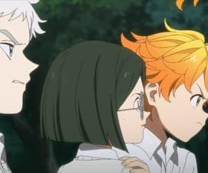 anime, emma, and norman image