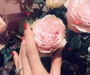 diamond ring, flowers, and dreamy image