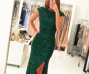 prom dresses, mermaid evening dresses, and prom dresses green image