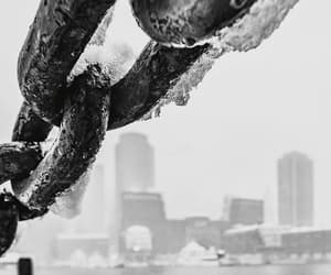 b&w, cities, and boston image