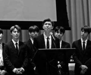 b&w, idols, and seokjin image
