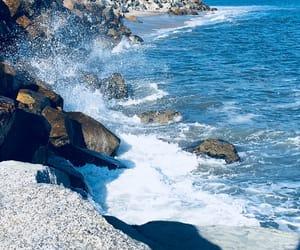 beach, cali, and ocean image