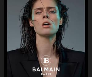 Balmain, models, and parís image