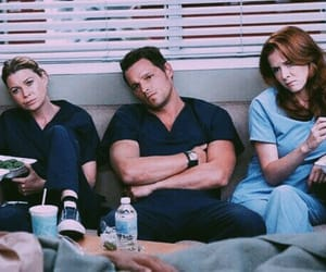 meredith grey, april kepner, and alex karev image