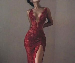 prom dresses, red mermaid prom dresses, and sexy prom dresses image