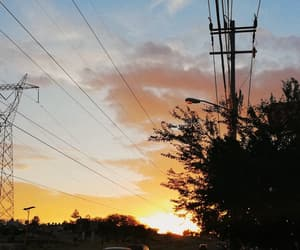 atardecer, cielo, and sunset image