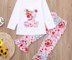 fashion, toddler girl short sets, and popreal image