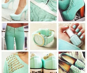 ballerina, mint, and coverse image