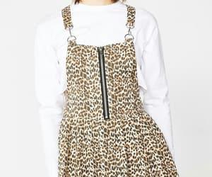 choker, dress, and fashion image