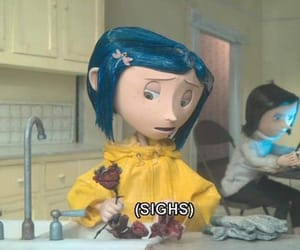 coraline, grunge, and aesthetic image