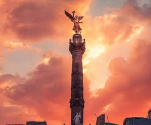 atardecer, city, and cdmx image