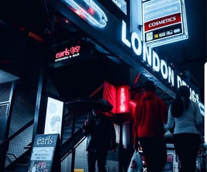 flourescent, lights, and london image