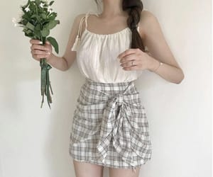 flowers, style, and top image