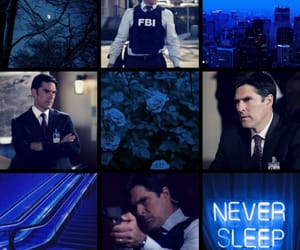 aesthetic, blue, and criminal minds image