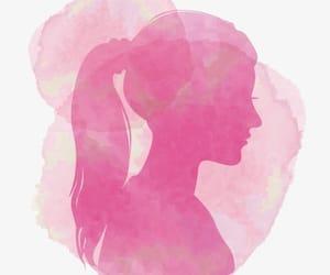 burbuja, pink hair, and color rosado image