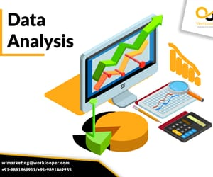 business, survey, and data analysis image