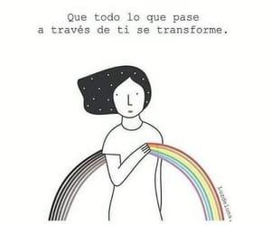 amor, arcoiris, and gris image