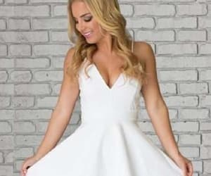 homecoming dresses, a-line homecoming dress, and lace party dresses image