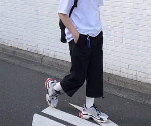 fashion, hiphop, and white image