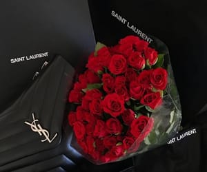 rose, luxury, and YSL image