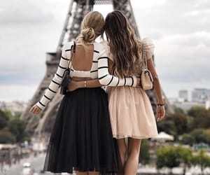 girl, outfit, and paris image