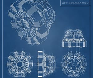 aesthetic, arc reactor, and iron man image