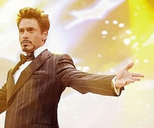 aesthetic, iron man, and Marvel image