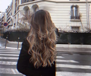 city and hair image