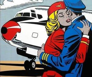 aircraft, crew, and flight attendant image