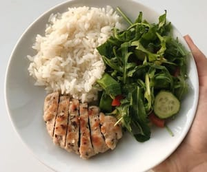 asian, rice, and main course image