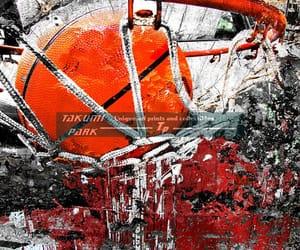 Basketball, photo print, and sports image