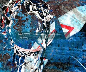 etsy, artprints, and basketball artwork image