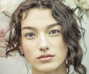 belleza, mirada, and mujer image