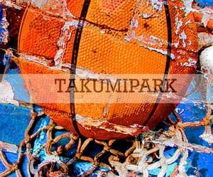ball, urban art, and college basketball image