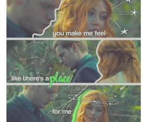 green, shadowhunters, and clary fairchild image
