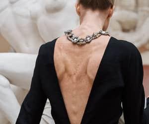 back, dress, and fashion image